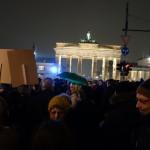 Foto: Demo gegen bärgida/pegida vorm Brandenburger Tor 2015-01-05