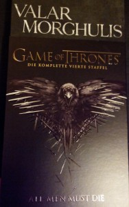 Foto: Schutzhülle: Game of Thrones - Season 4 (DVD)