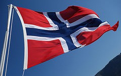 Photo: Flagge Norwegens